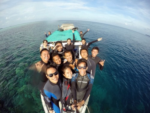 Diving Pramuka #3
